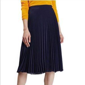 NWOT Topshop Chiffon Midi Skirt